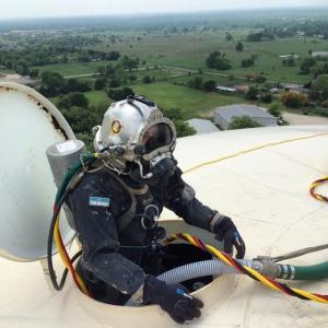 Potable Water Line Air Diver